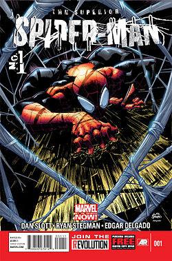 Superior Spider-Man #1 cover!