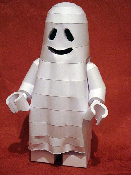 how to build a lego ghost