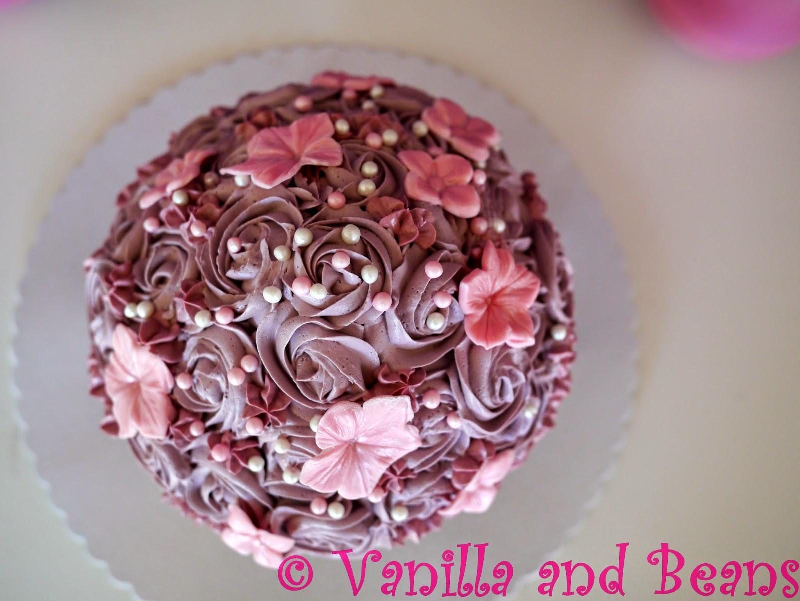 veganes Riesen-Cupcake