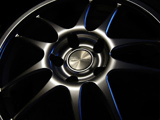 Rim Wheel Dark Black Wallpaper