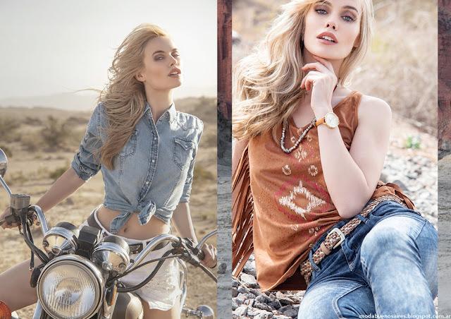 Moda verano 2016 mujer ropa. Sweet verano 2016.