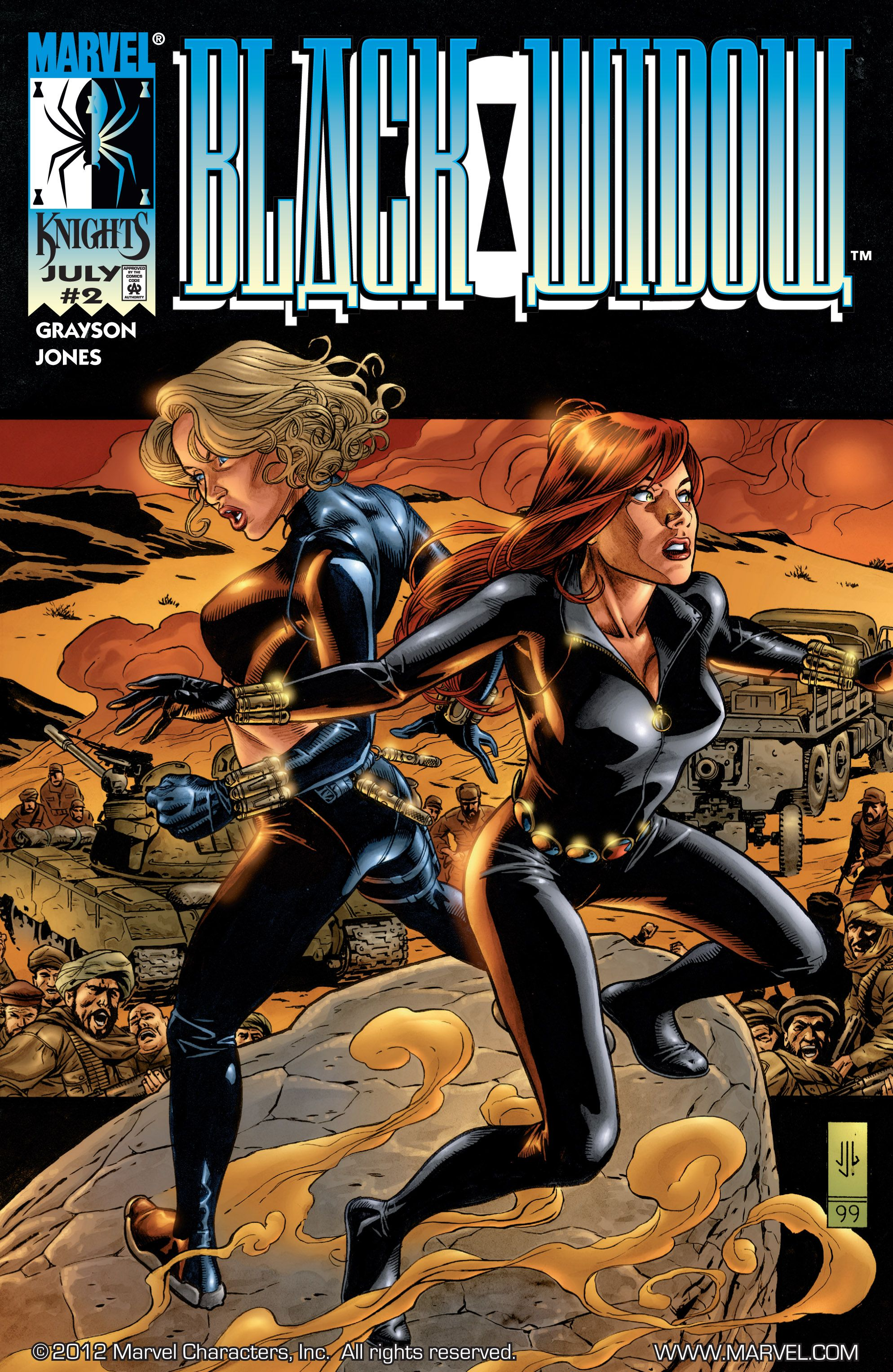 Black Widow (1999) 2 Page 1