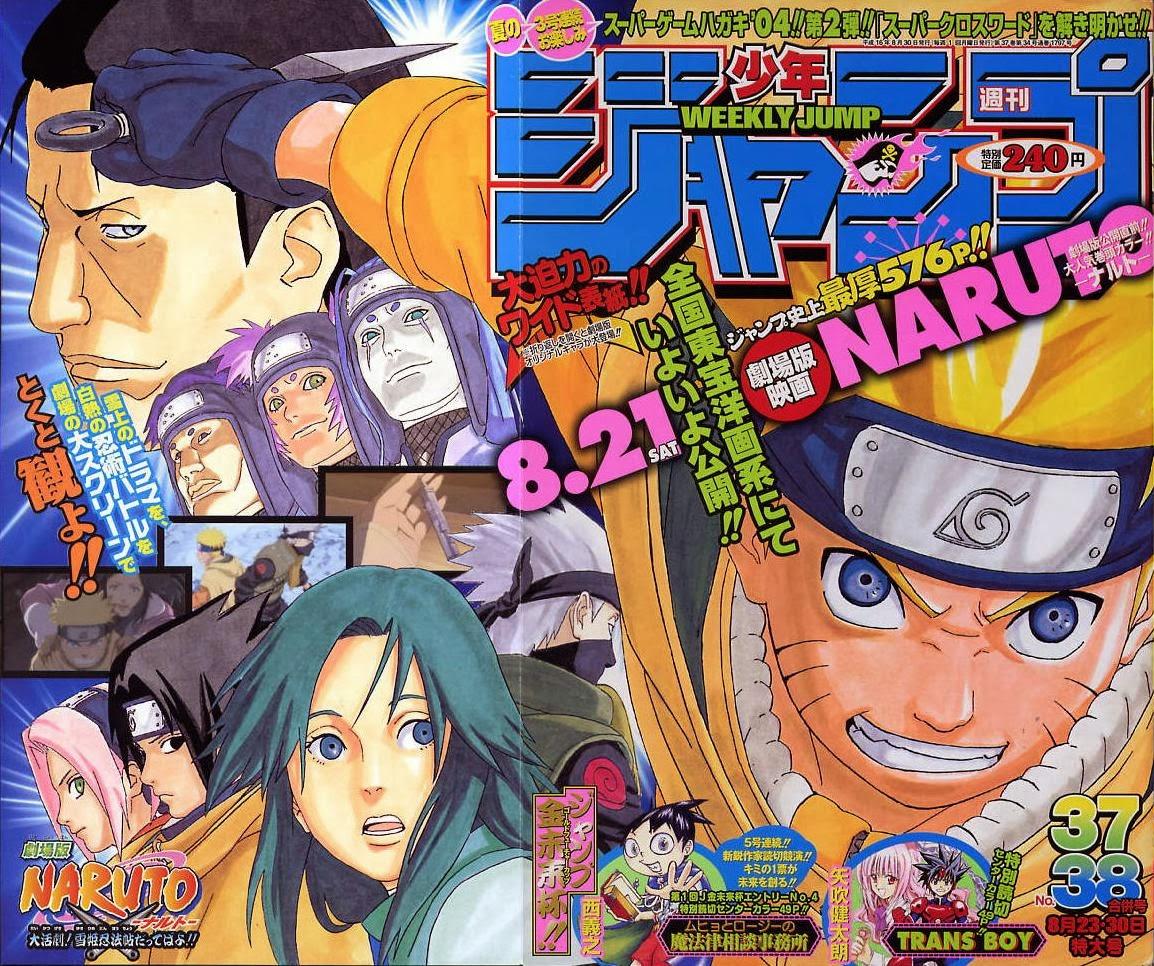 PharaoDopazo+: Weekly Shonen Jump Pure Rankings 2004
