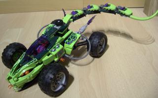 Lego Ninjago Masters of Spinjitzu modern voertuig