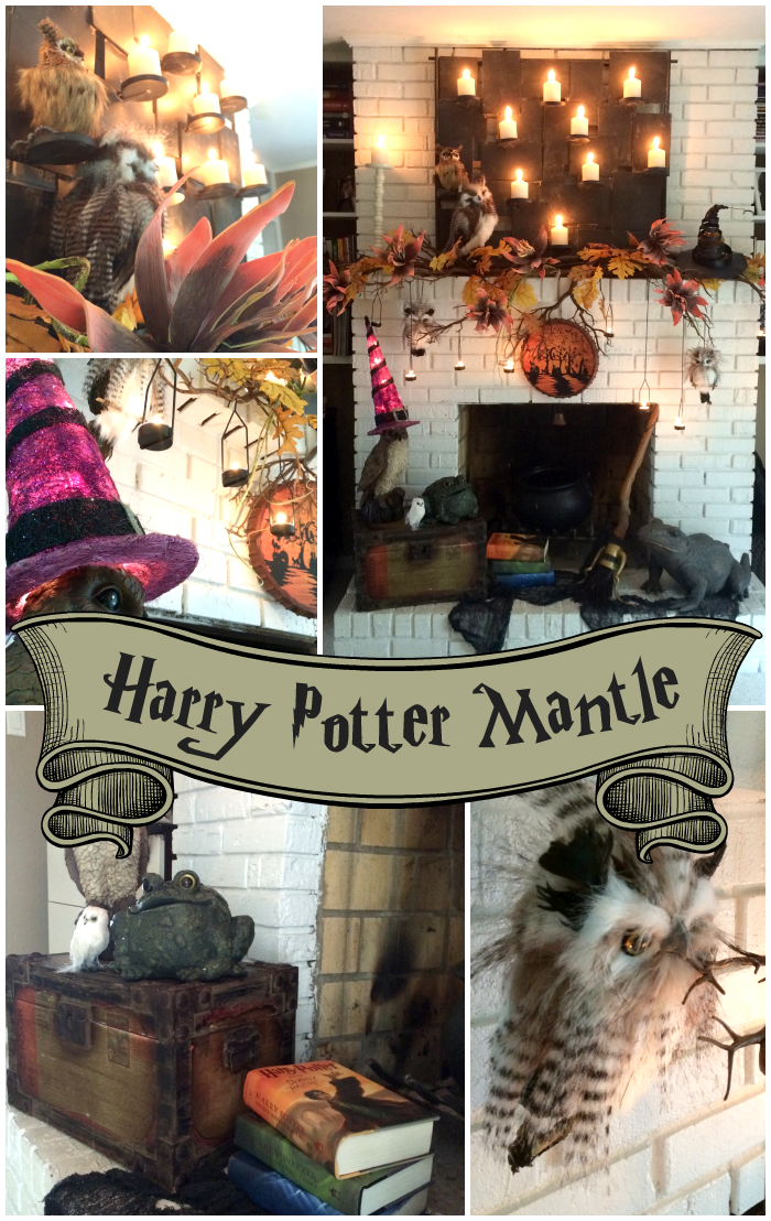 Trees N Trends A Harry Potter Inspired Mantle