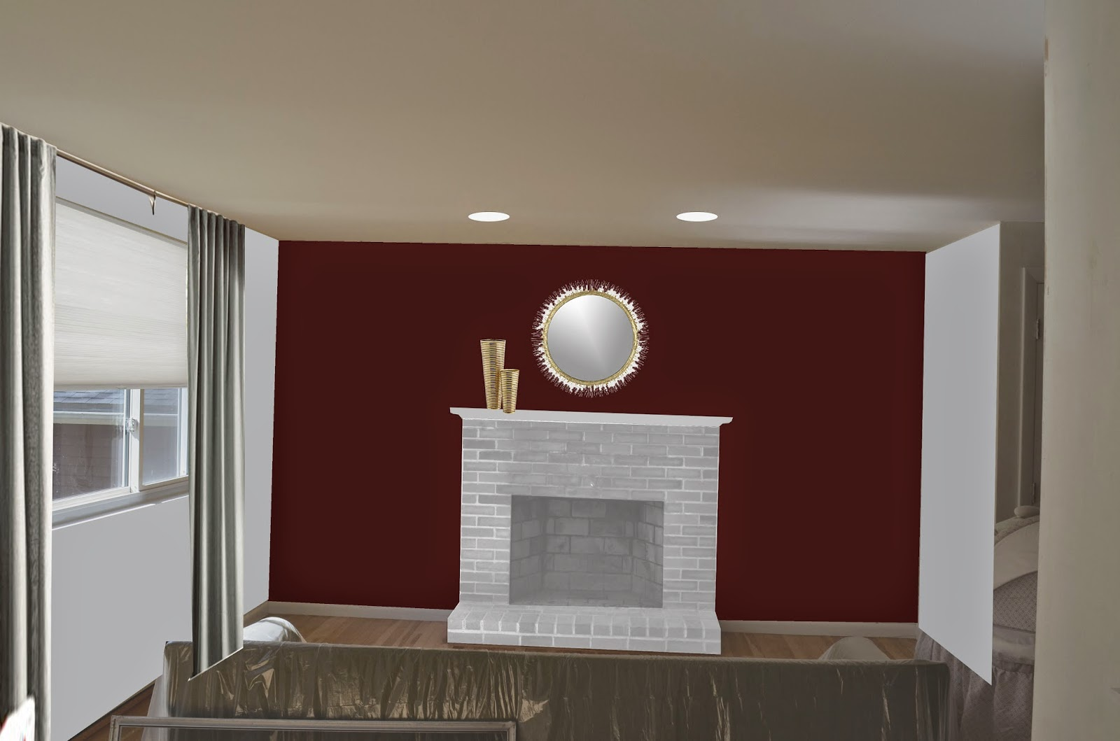 Paint Colors Living Room Red Brick FireplaceHouse Decor