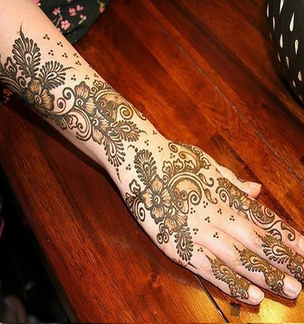Mehndi Beautiful Designs Pics : Mehndi style most beautiful pakistani designs