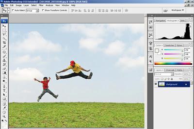 ... Tutorial Cara Menghilangkan Objek Gambar dan Foto di Photoshop