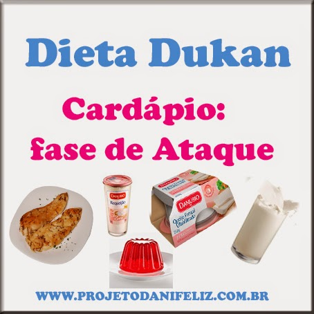 Dieta Dukan Cardapio Fase De Ataque Dani Moura