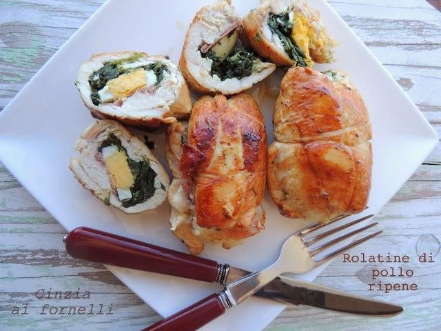 rolatine ripiene di pollo