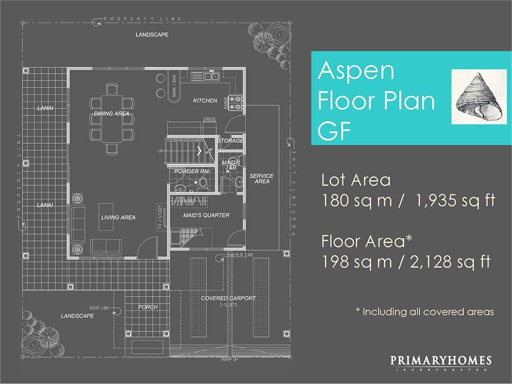 3 Bedroom 2 Storey House Floor Plans