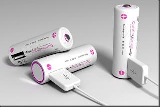 Pilhas USB