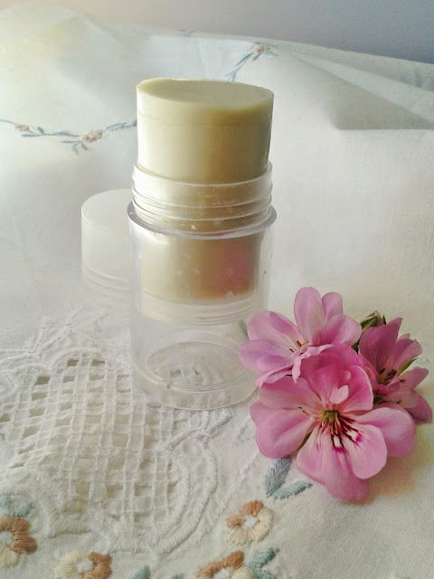 homemade natural deodorant stick