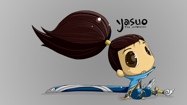 chibi yasuo the unforgiven league of legends