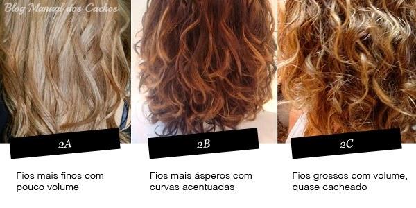 tipos de cabelos ondulados