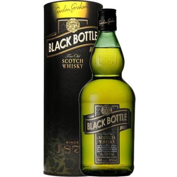 黑樽威士忌 Black Bottle