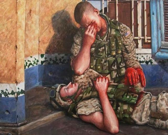 pinturas-con-temas-militares