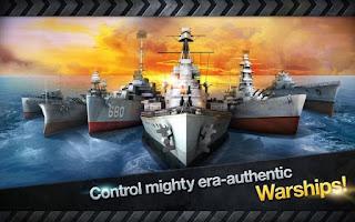 Game WARSHIP BATTLE 3D World War Apk Terbaru 2015