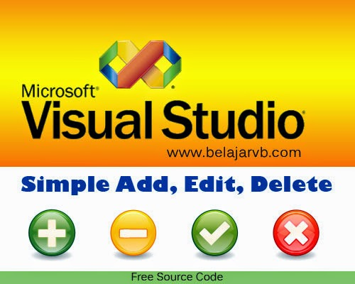 Free Soure Code Add, Edit, Delete VB 2008 DB Access 2007 (accdb)