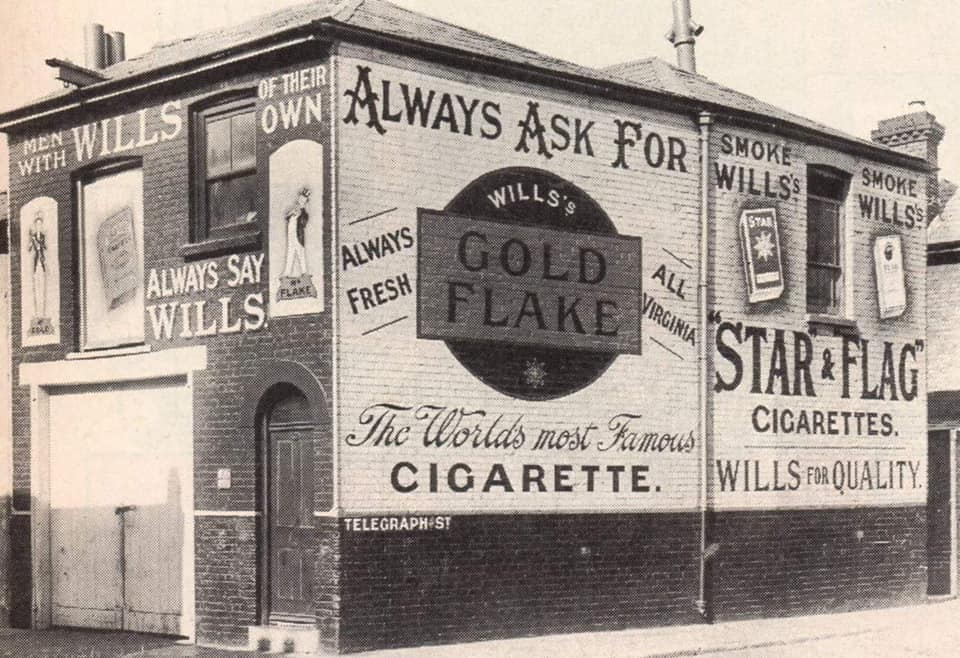 Remember adverts on the side of the house?