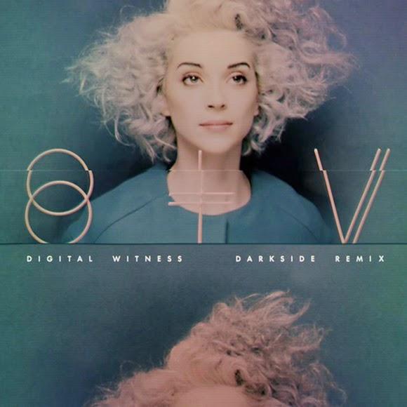 St. Vincent - Digital Witnes (Darkside remix)