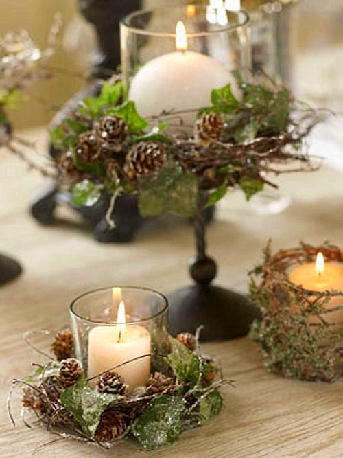 Tilbury decoraci n mesas de navidad - Mesa para navidad decoracion ...