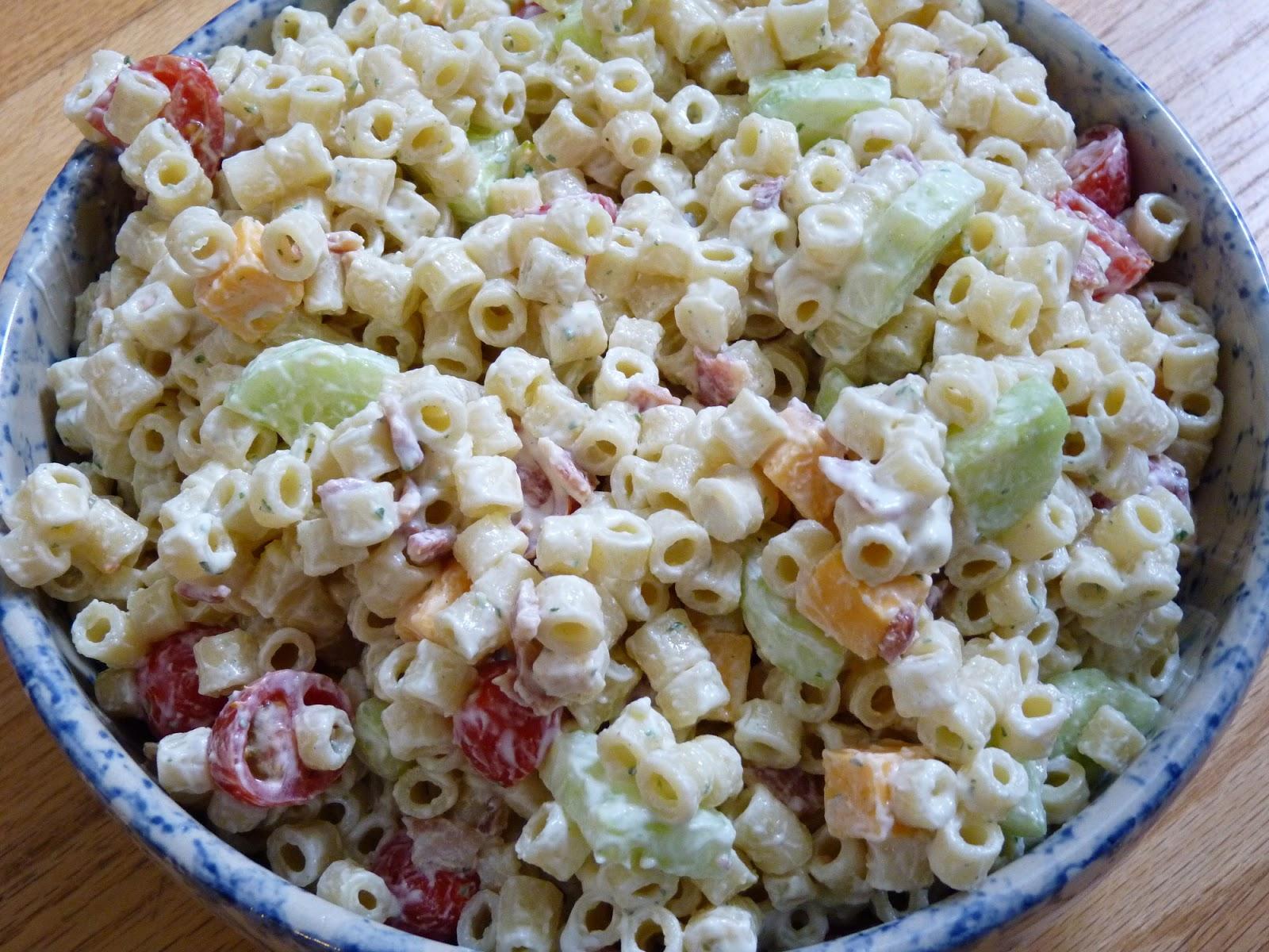 fantastic family favorites creamy bacon ranch pasta salad