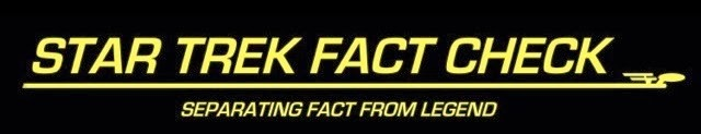 Star Trek Fact Check