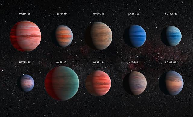 Estudio de atmósferas exoplanetas