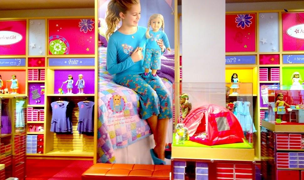 Loja de bonecas American Girl Place em Miami