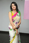 Kushi glamorous saree photos-thumbnail-17