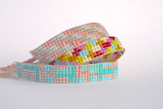 An incredible tutorial showing how to make your own beaded friendship bracelets. From Sarita Creative