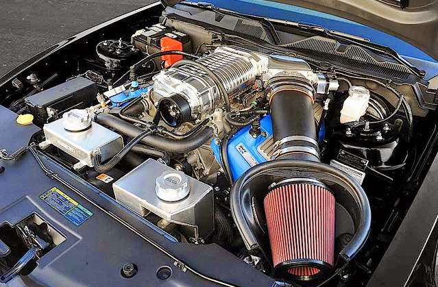 2013 Ford Mustang Shelby GT500 Super Snake Engine