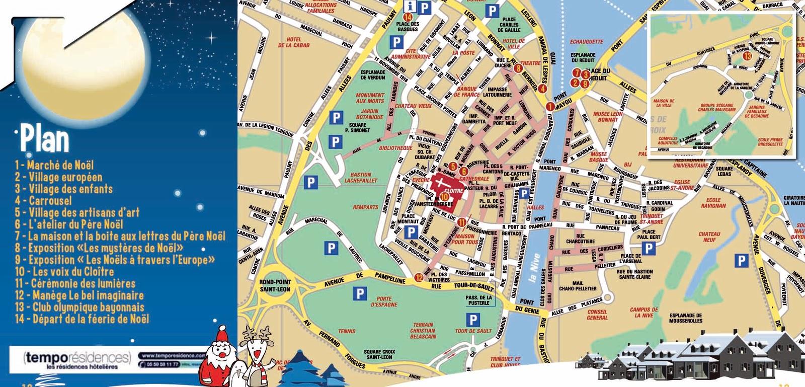 plan de bayonne plan de bayonne voyages cartes info plan de la ville de bayonne les sorties. Black Bedroom Furniture Sets. Home Design Ideas