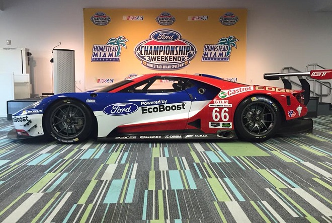 Drivers Ryan Briscoe Richard Westbrook Dirk Muller And Joey Hand Have Been Selected For Full Time Rides In The Two Ford Gts That Will Compete In The Full
