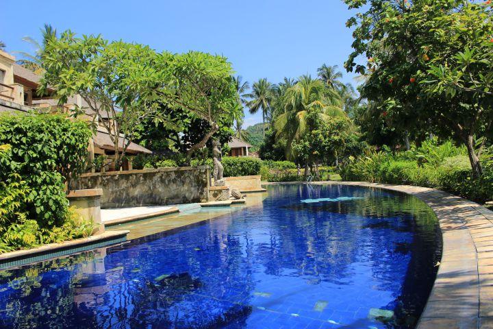 Villa dengan private pool
