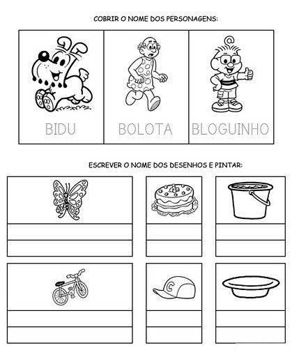 Atividades de Alfabetização coma letra B