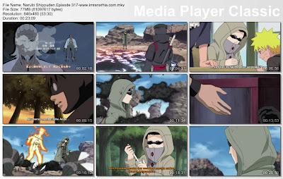 """Download Film / Anime Naruto Episode 317 """"Shino vs. Torune!"""" Shippuden Bahasa Indonesia"""