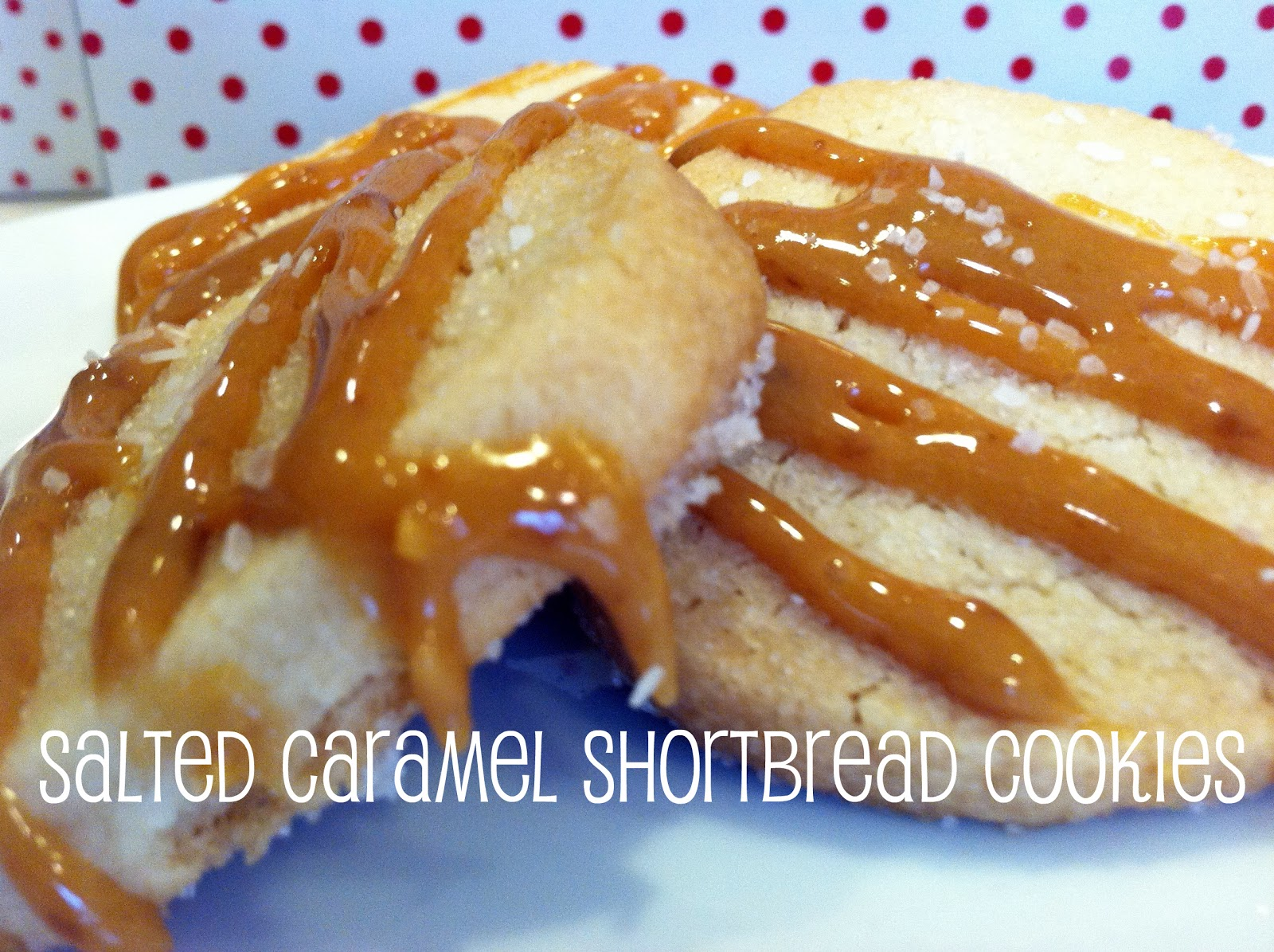 Salted Caramel Shortbread Cups Recipe — Dishmaps