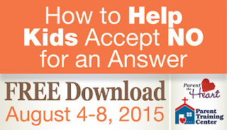 Free Download: How to Help Kids Accept No for an Answer