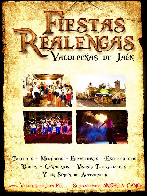 cartel fiestas realengas