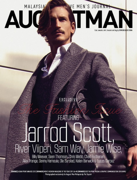 Jarrod Scott by Pat Supsiri for August Man Cover