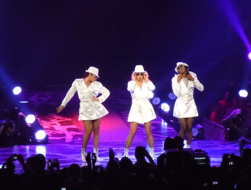 Britney Spears Femme Fatale raincoats