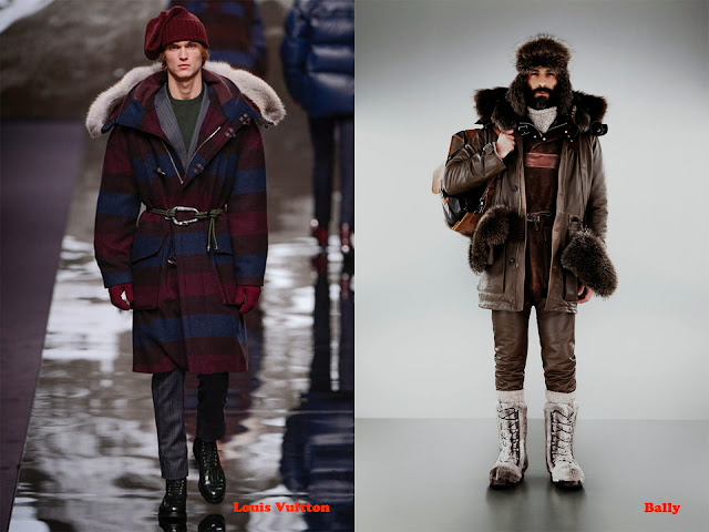 Tendencia otoño_invierno 2013-14 look alpinista: Louis Vuitton y Bally