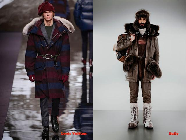 Tendencia otoño_invierno 2013-14 look alpinista: Louis Vuitton y Bally