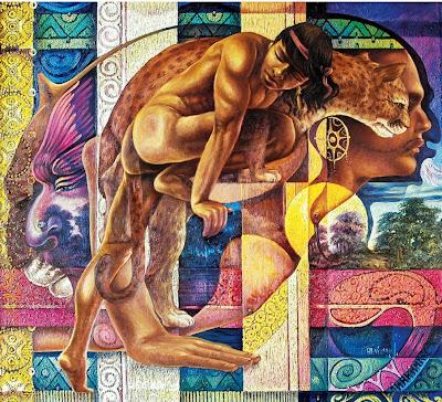 pintura-indigenista-al-oleo-alfredo-vivero-cuadros