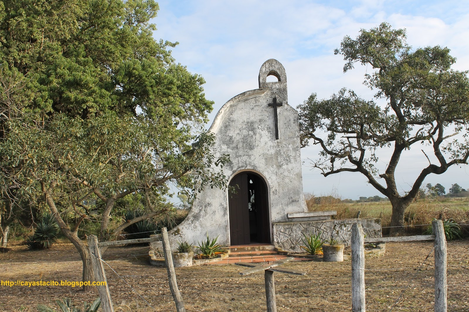 Capilla San Roque, Camino a Naré