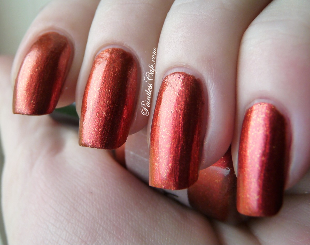 Paint Box Polish: Gryffindor and Slytherin - Swatches and Review ...