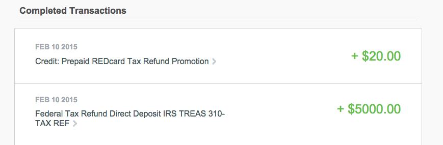 REDcard prepaid
