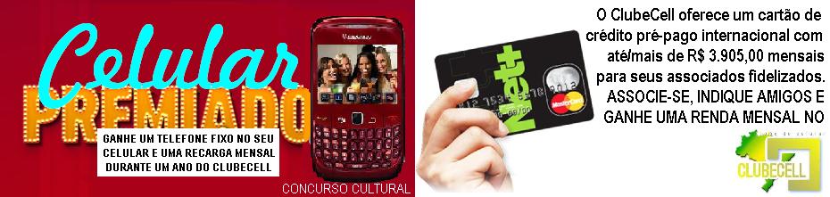 Celular Premiado - Concurso Cultural dos Usuários de Celular Pré-Pago do Brasil